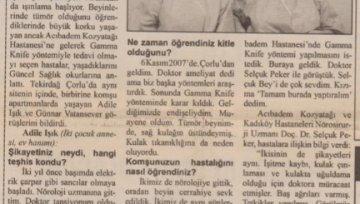 Birikim Gazetesi - 11 Şubat 2008